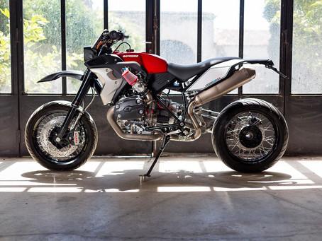 老掉的大鳥  不如就讓它朝Super Moto變身!