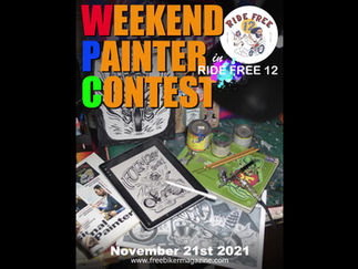 RF12「Weekend Painter Contest 」作品募集中!