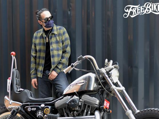 這個季節夜騎最適合的長袖襯衫 - Vin&Age Wide Shirt Blouson