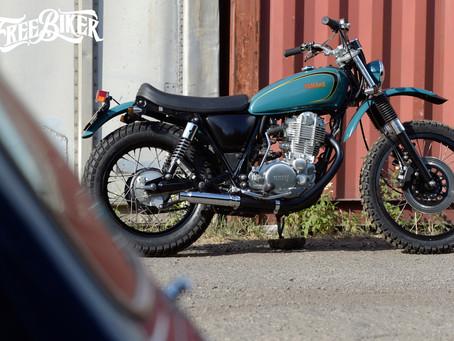 不讓你猶豫不決 一切完全直上 Mark Motorcycles SR400