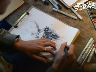 Art on Wheels!用畫筆讓照片記錄下的瞬間躍動起來