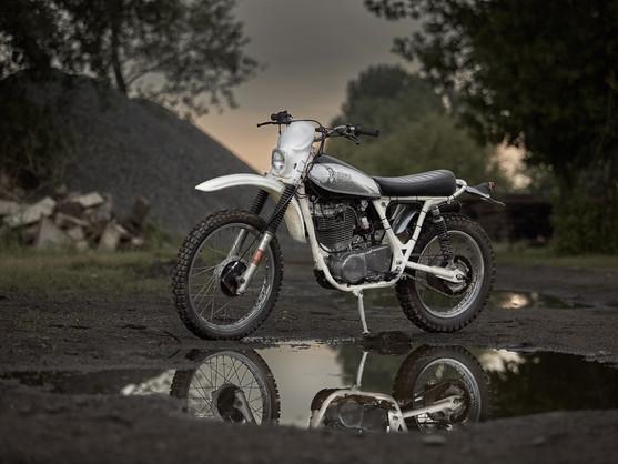 讓SR回歸XT原點 - 86 Gear SR500