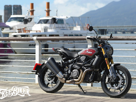 藏於美式軀殼之下的好戰基因 Indian Motorcycles FTR1200S