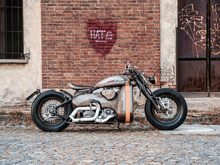 "用前衛元素為古典加料 - Metalbike Garage ""The Beast"""