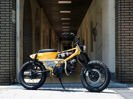 這是BMX 只不過上路你需要駕照  Hide Work Custom 金旺100