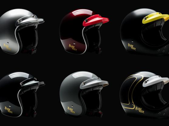 除了造型和顏色  更講究強度與品質 - Blade Rider Sun Visor