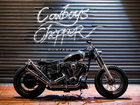 延續原廠車架的Bobber進化式 Cowboy's Chopper '81 Shovel