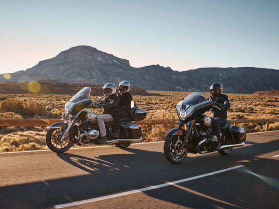 2022年強攻Bagger和Touring市場 - BMW R18 B & R18 Transcontinental