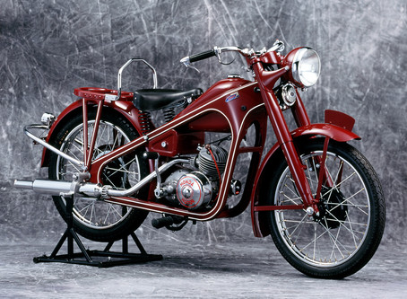 Dream D - 距今70年前問世的Honda一號機