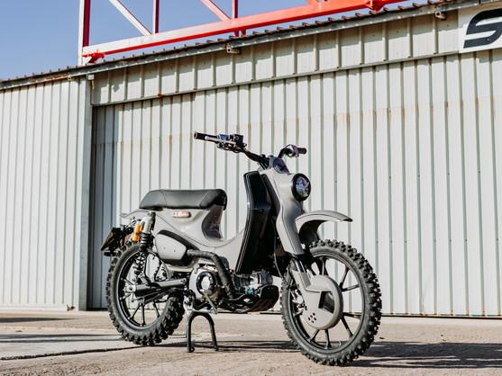 """為Super Cub注入Enduro概念 - Motocicli Audaci """"C125X"""""""