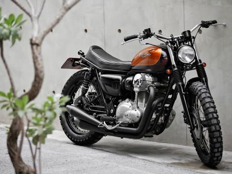 源自手工車思維的套件車 - Mark Motorcycles W800