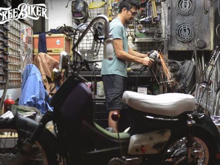 RIDE FREE 11展前速報 - Ma's Handmade Motorcycle