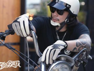 完全鎖定黑白控和閃電愛好者 - Vin&Age Naughty Series Leather Gloves