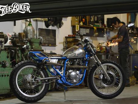 一部細節讓人驚艷的手工作品 - KenKen MotoSR150