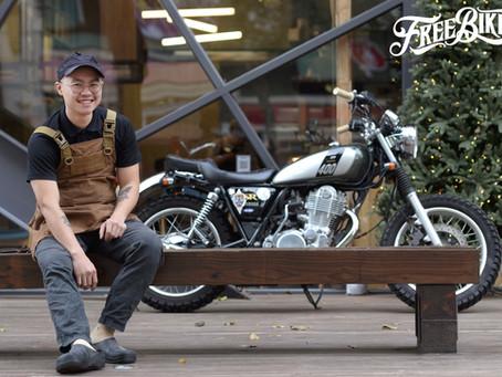 【Bikers' Story】披薩・廚師・SR400