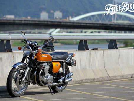 讓CB之名躍上世界舞台 - Honda CB750 Four