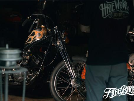 你有多久沒看到真正硬派的Old School Chopper?再等幾天,這次RIDE FREE 10就有1台!