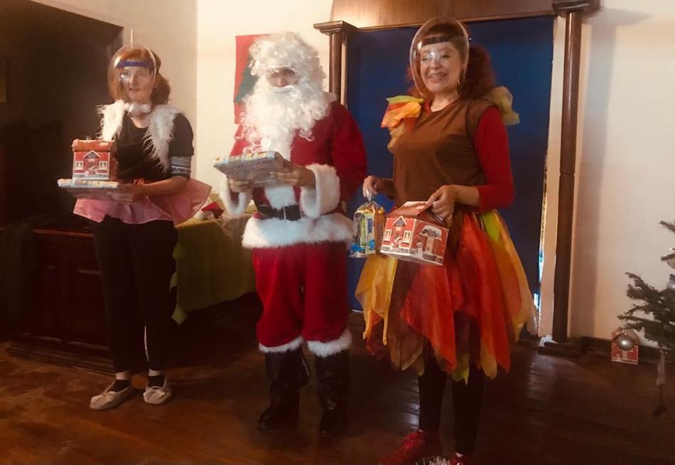 Рождественский спектакль для детей заключённых
