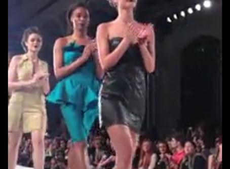 Devona walks Beso Moda-  LAFW - Project Ethos