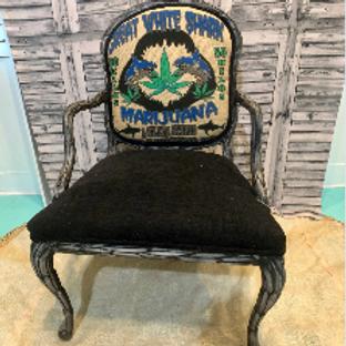 Great White Cannabis Chair #3