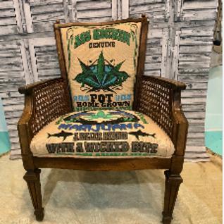 Great White Cannabis Chair #1