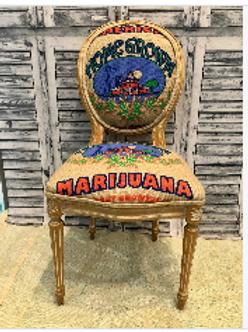 Home Grown Cannabis Chair