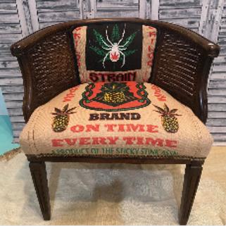White Widow Cannabis Chair #1