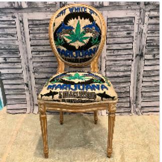 Great White Cannabis Chair #2