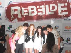 Lançamento Novela Rebelde