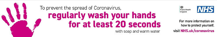 To prevent the spread of coronavirus, regularly wash your hands for at least 20 seconds with soap and warm water