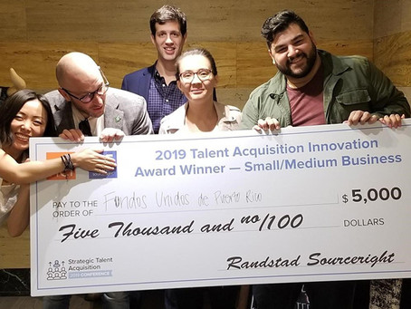 HOW WE WON THE 2019 HCI TALENT ACQUISITION AWARDS