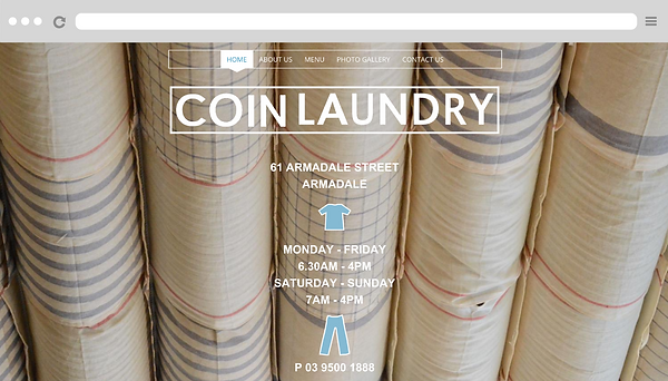 Coin Laundry Cafe Melbourne