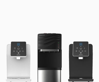 Shop Drinkpod's water purification, filtration, and cooler appliances.