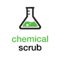 Chemical Scrub Purification Stage Icon + Text