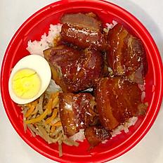 Okinawan Shoyu Pork Bowl