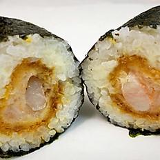 Spicy Shrimp Katsu Hand Roll