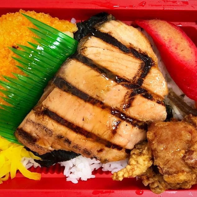 Nori Bento w/ Broiled Salmon