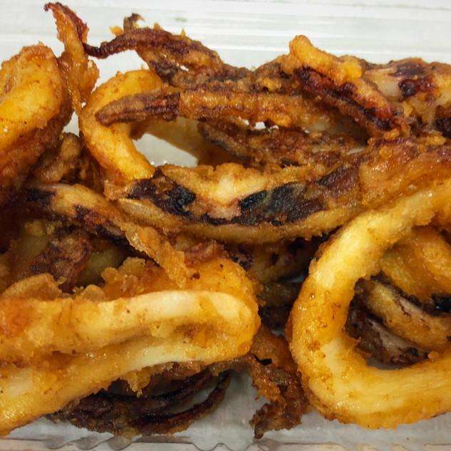 Squid Karaage pack