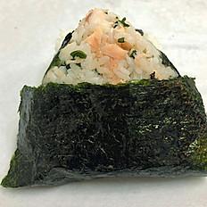 Salmon Wakame Musubi