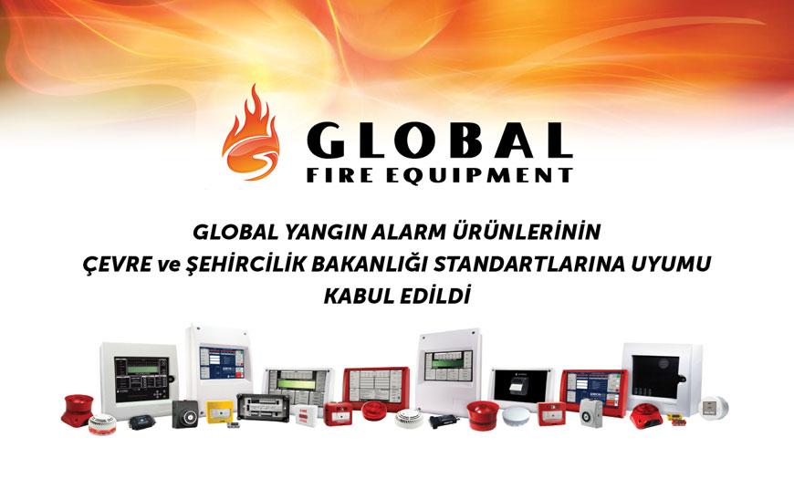 Global Marka Yangın Algılama
