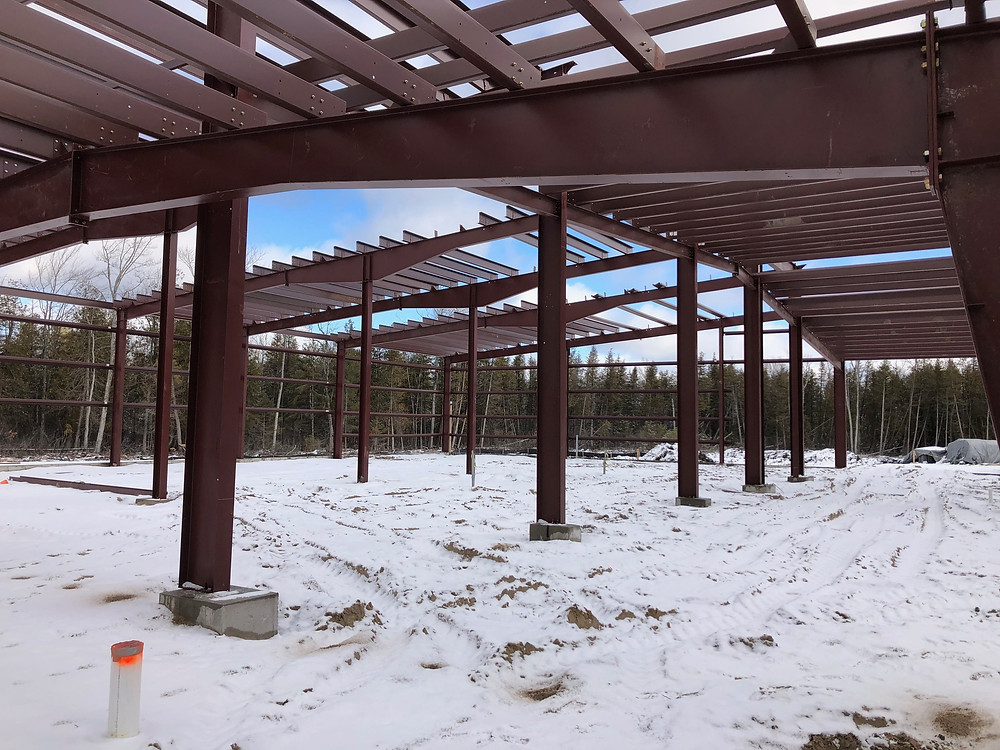 Steel Structure in Area B (Jail)