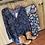 Thumbnail: Tigerlily Babydoll Dress Cobalt Paisley