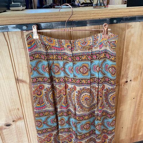 Zimmermann Paisley Pants High Waist Wide Leg