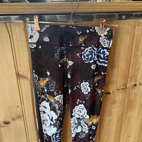The Upside Winter Floral Full Length Tights