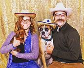 Montana Photo Lounge, Bozeman Photo booth rental, Montana photo Lounge, 1956 shasta camper, photostrip, dogs