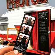 Montana Photo Lounge, Bozeman Photo booth rental, Montana photo Lounge, 1956 shasta camper
