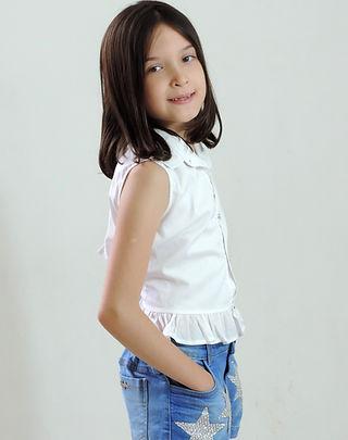 Clara Martine - Altura 1,40 - Manequim 0