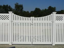 Superior Custom Villa Double Drive Gate