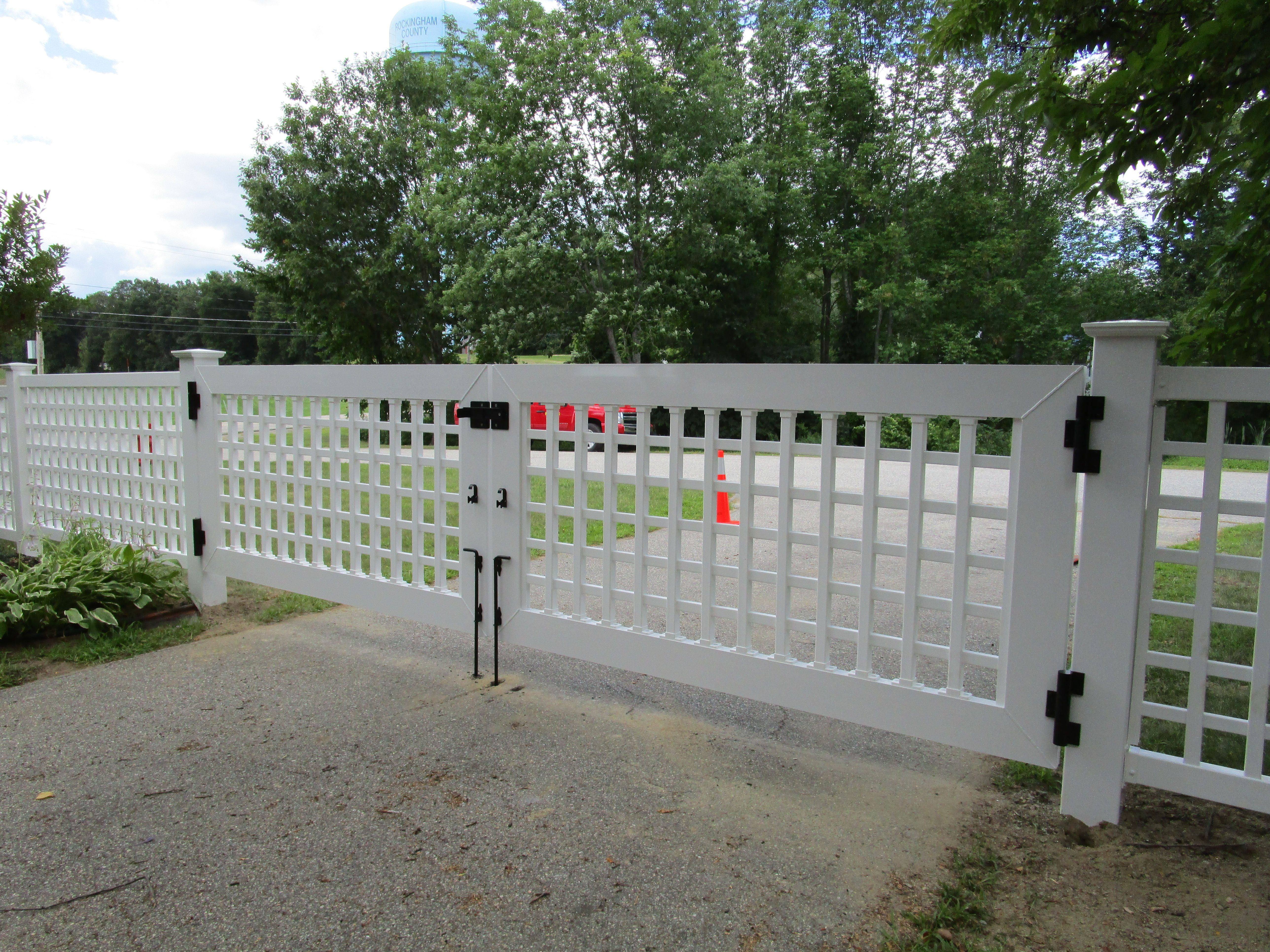 Superior Custom Grid Double Drive Gate