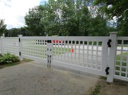 Superior Custom Grid Double Drive Gate